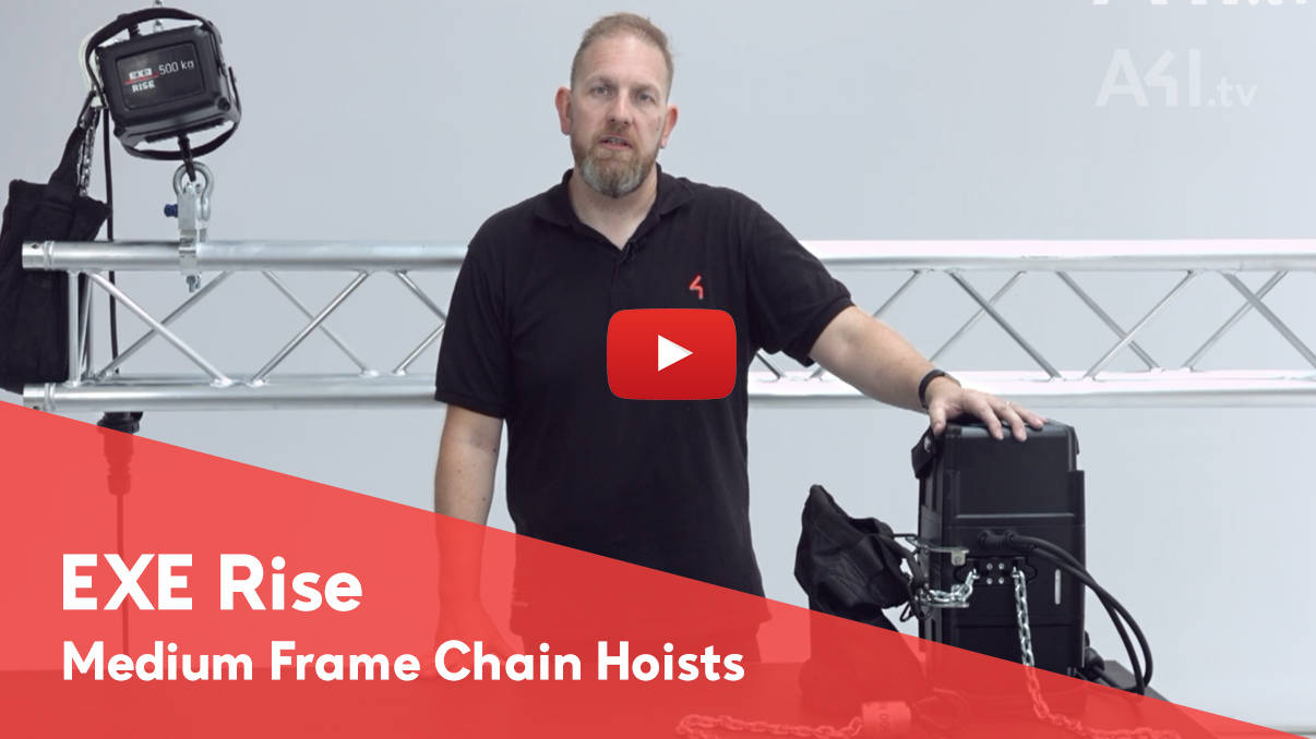 A4i.tv Video Release - EXE RISE Medium Frame Hoist