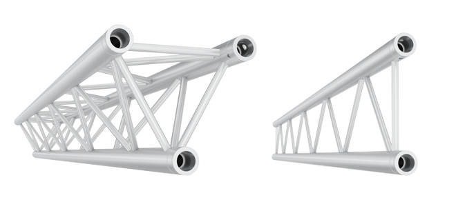 JT30 DUO and TRIO Truss support your needs