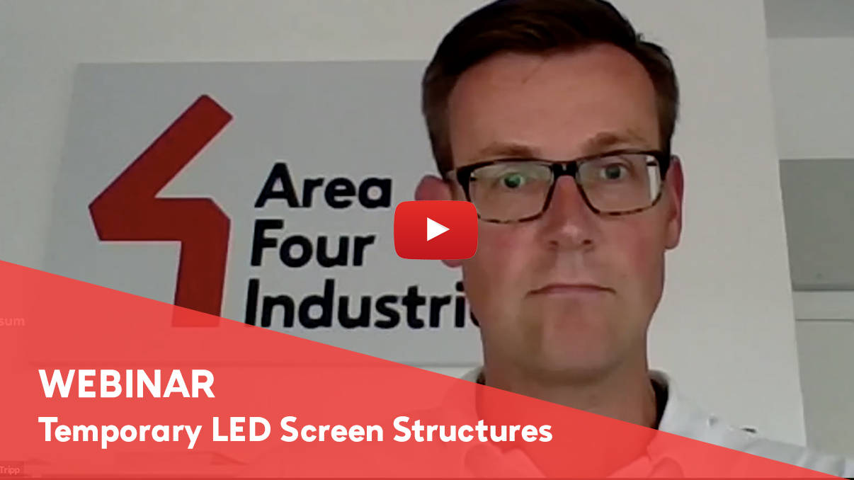 Recording of Temporary Outdoor LED Screen Structures Webinar is now available